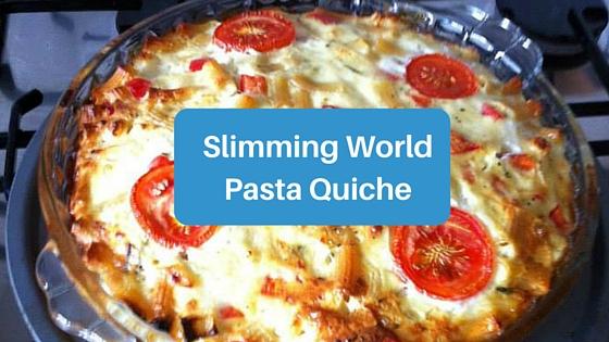 Slimming World Pasta Quiche Swstretford