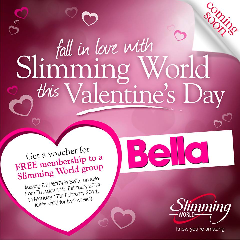 Free Slimming World Membership With Bella Magazine Issue