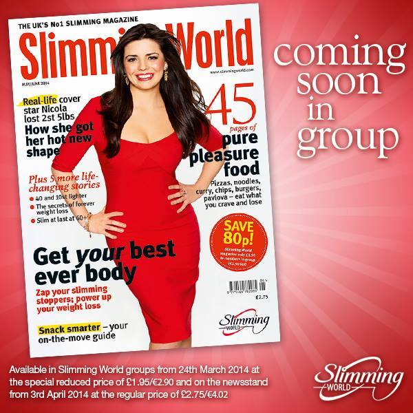 Slimming World Magazine May June 2014 Swstretford