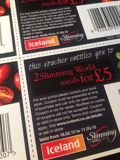 Pickup Your Iceland Ready Meal Vouchers In Group This Week