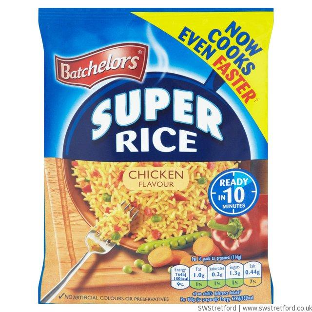 Bachelors super rice recipe change swstretford New slimming world products