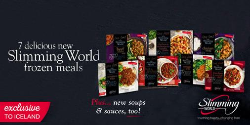Launching Today New Slimming World Meals Soups Sauces