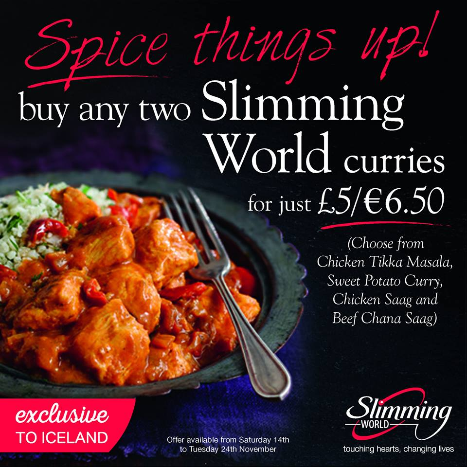 Fancy A Curry In A Hurry Pickup Two Slimming World Curries