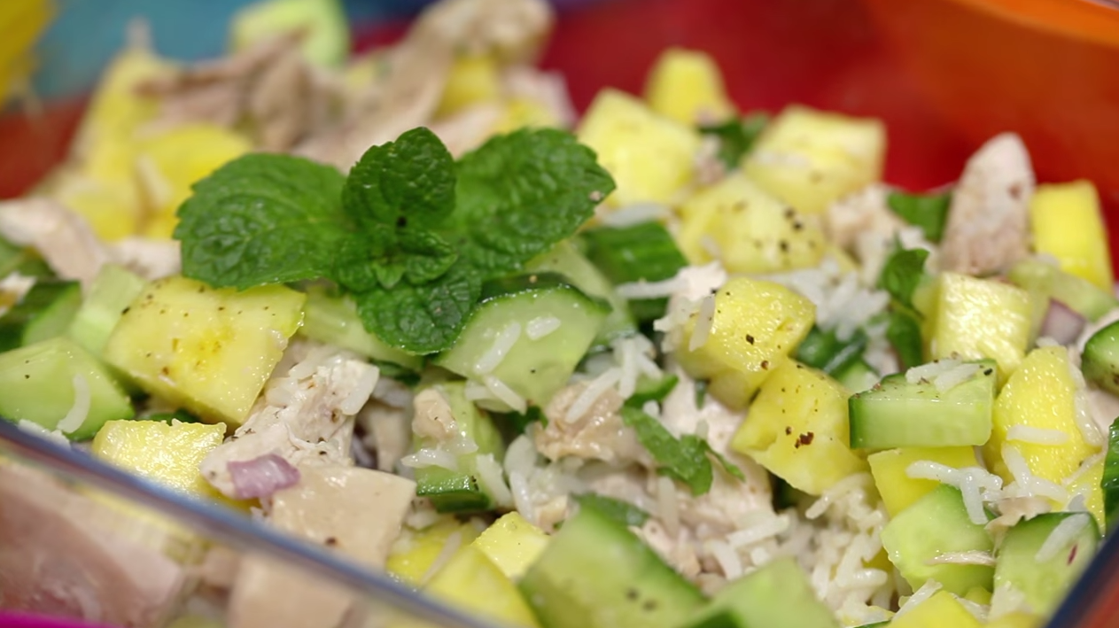 Slimming World Caribbean Chicken And Rice Lunch Idea