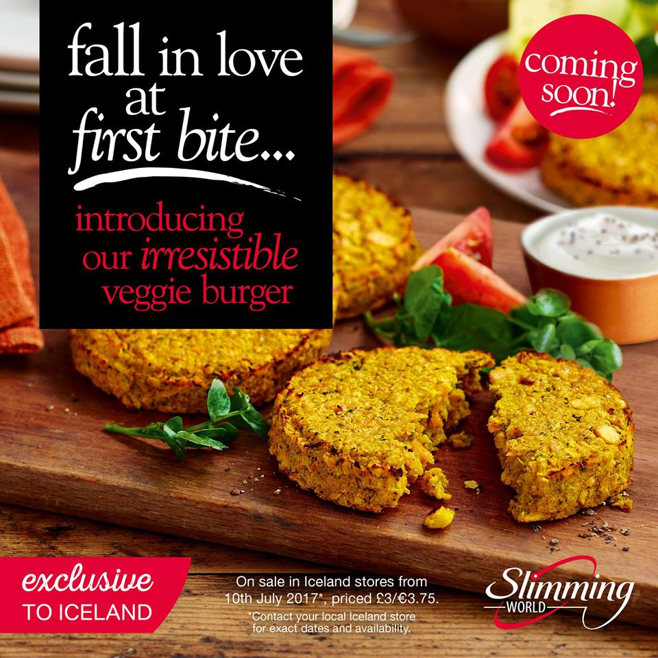 Brand New Slimming World Veggie Burgers Coming Soon
