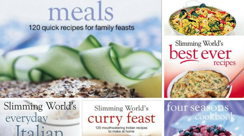 Slimming World Ebury Press Recipe Books